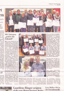 Kieler Nachrichten 23.11.2012